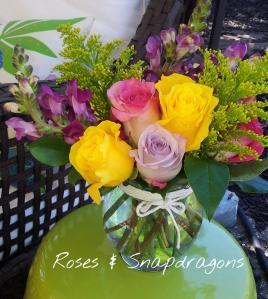 roses&snapdragons